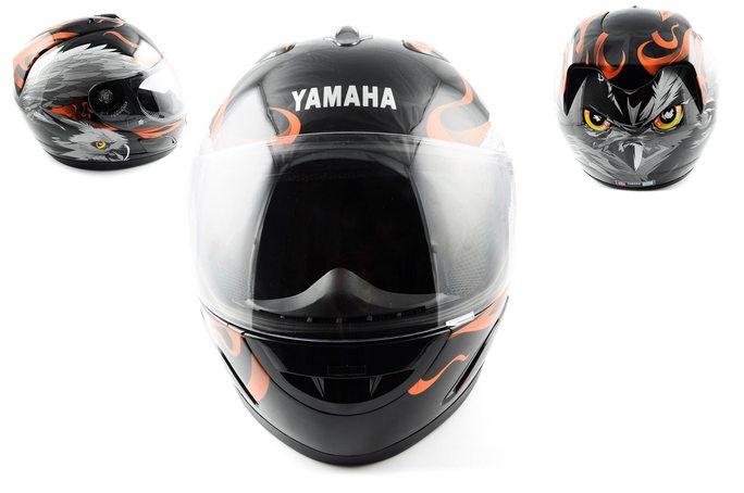 Шлем-интеграл   (mod:HAWK) (size:XXL, черный) Ш8   YMH