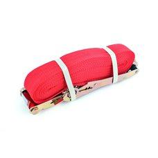 Купить Ремень стяжной с натяжным механизмом 5000кг, красный   LVT в Интернет-Магазине LIMOTO