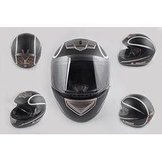 Купить Шлем-интеграл   (mod:368) (size:XXL, черный матовый, HIGHWAY)   LS-2 в Интернет-Магазине LIMOTO