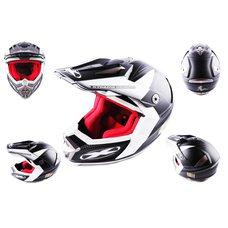 Купить Шлем кроссовый   (mod:435) (size:XL, черный матовый)   X-DRIVE в Интернет-Магазине LIMOTO