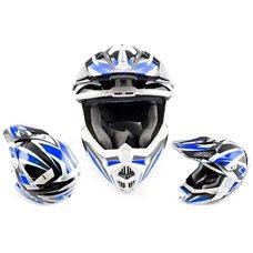 Купить Шлем кроссовый   (mod:435) (size:XL, синий)   ZOX в Интернет-Магазине LIMOTO