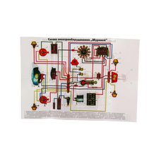 Купить Схема электрооборудования   МУРАВЕЙ   EVO в Интернет-Магазине LIMOTO