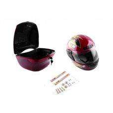 Купить Кофр пластмассовый   (+шлем)   EVO в Интернет-Магазине LIMOTO