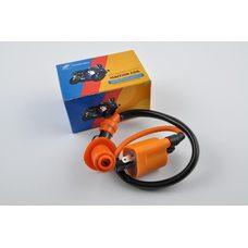 Купить Катушка зажигания (тюнинг)   Yamaha JOG    (оранжевая, +насвечник)   SENDFLY в Интернет-Магазине LIMOTO