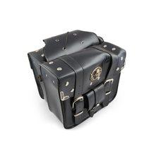 Купить Кофры боковые (пара)   (кожа, черные, #WL-0536)   KML в Интернет-Магазине LIMOTO