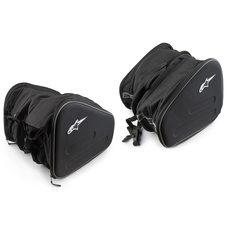 Купить Кофры боковые (пара)   (ткань, черные, #EE006)   KML в Интернет-Магазине LIMOTO