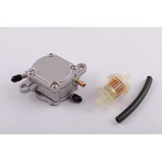 Купить Бензонасос вакуумный   Honda DIO   (+топливный фильтр)   JS в Интернет-Магазине LIMOTO