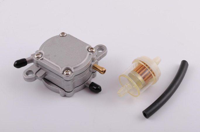 Бензонасос вакуумный Honda DIO (+топливный фильтр) JS - Купить на LIMOTO
