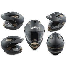 Купить Шлем кроссовый   (mod:GS-14) (с визором, size:L, черный)   GSB в Интернет-Магазине LIMOTO