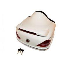 Кофр   Мерседес   (белый) (+шлем-интеграл белый)   EVO Купить в Интернет-Магазине LIMOTO