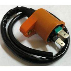 Катушка зажигания (тюнинг)   4T GY6 50-150, Honda DIO   (оранжевая)   (K)   EVO Купить в Интернет-Магазине LIMOTO