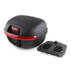 Купить Кофр пластмассовый   (черный, 44*38*26 см)   ZV в Интернет-Магазине LIMOTO