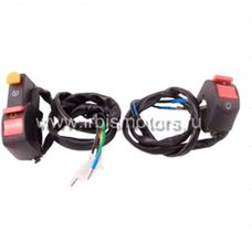 Купить Блоки кнопок руля (пульт, пара)   IRBIS TTR125/150   KOMATCU в Интернет-Магазине LIMOTO