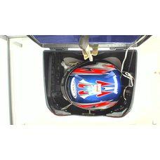 Купить Кофр   Мерседес   (синий) (+шлем)   EVO в Интернет-Магазине LIMOTO