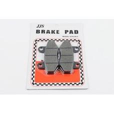 Купить Колодки тормозные (диск)   4T GY6 50-150   (RACE/STORM, под двухпоршневой суппорт, черные)    JJS в Интернет-Магазине LIMOTO