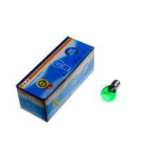 Купить Лампа S25 (двухконтактная)   12V 21W/5W   (стоп, габарит)   (зеленая)   YWL в Интернет-Магазине LIMOTO