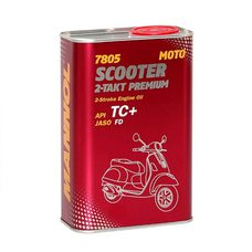 Купить Масло   2T, 1л   ж/б   (синтетика, 7805 Scooter 2-Takt Premium API TC+)   MANNOL в Интернет-Магазине LIMOTO