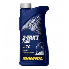 Купить Масло   2T, 1л   (полусинтетика, 2-Takt Plus API TC)   MANNOL в Интернет-Магазине LIMOTO