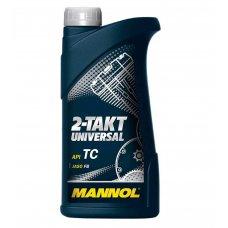 Купить Масло   2T, 1л   (минеральное, 2-Takt Universal API TC)   MANNOL в Интернет-Магазине LIMOTO