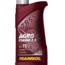 Купить Масло   2T, 1л   (для садовой техники, 7858 Agro Formula S API TC)   MANNOL в Интернет-Магазине LIMOTO