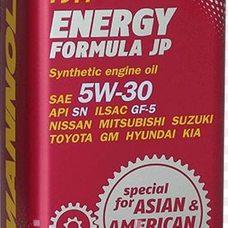 Купить Масло   автомобильное, 1л   ж/б   (SAE 5W-30, синтетика, Energy Formula JP API SL)   MANNOL в Интернет-Магазине LIMOTO