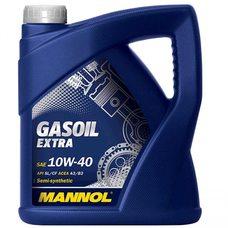 Купить Масло   автомобильное, 4л   (SAE 10W-40, полусинтетика, Gasoil Extra API SL/CF)   MANNOL в Интернет-Магазине LIMOTO