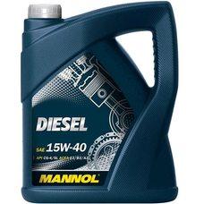Купить Масло   автомобильное, 5л   (SAE 15W-40, минеральное, Diesel API CG-4/CF-4/CF/SL)   MANNOL в Интернет-Магазине LIMOTO