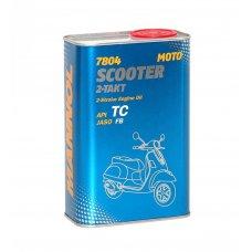 Купить Масло   2T, 1л   (полусинтетика, 7804 Scooter 2-Takt API TC)   MANNOL в Интернет-Магазине LIMOTO