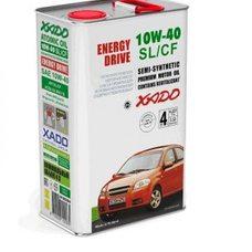 Купить Масло автомобильное 4л   (полусинтетика, 10W-40SL/SF, Atomic Oil, Energy Drive)   (20244)   ХАДО в Интернет-Магазине LIMOTO
