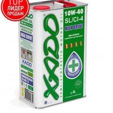 Купить Масло автомобильное 4л   (полусинтетика, 10W-40SL/SI-4, Atomic Oil, MAX Drive)   (20209)   ХАДО в Интернет-Магазине LIMOTO
