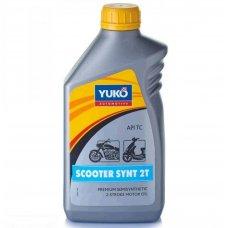 Купить Масло   2T, 1л   (полусинтетика, SCOOTER SYNT, JASO, ISO-L-EGC, API TC)   YUKO   (#GRS) в Интернет-Магазине LIMOTO