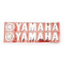 Купить Наклейка   буквы   YAMAHA   (20х6см, 2шт, хром)   (#4751) в Интернет-Магазине LIMOTO