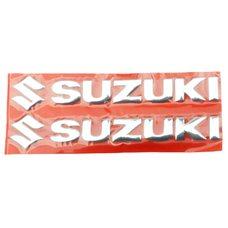 Купить Наклейка   буквы   SUZUKI   (20х6см, 2шт, хром)   (#4752) в Интернет-Магазине LIMOTO
