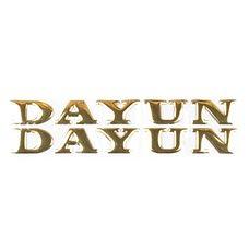 Купить Наклейка   буквы   DAYUN   (19х4см, 2шт, золотые)   (#DYN) в Интернет-Магазине LIMOTO