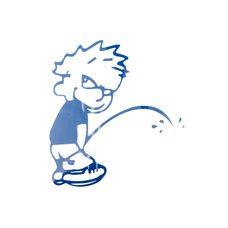 Купить Наклейка   декор   BAD BOY   (23х21см, синяя)   (#HQ159A) в Интернет-Магазине LIMOTO