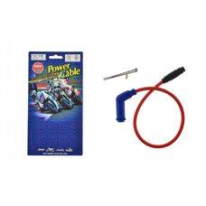 Купить Бронепровод 550mm   (красный)   (+соединитель, насвечник синий 45*(135*)   MZK в Интернет-Магазине LIMOTO