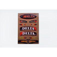 Купить Наклейки (набор)   Delta   (33х22см, бронзовые)   SEA в Интернет-Магазине LIMOTO