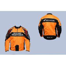 Купить Мотокуртка   HONDA   (текстиль) (size:L, оранжево-черная) в Интернет-Магазине LIMOTO