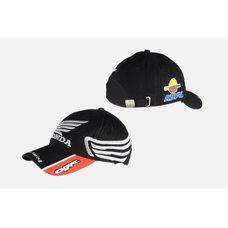Купить Бейсболка   HONDA RACING   (черно-красная, 100% хлопок) в Интернет-Магазине LIMOTO