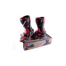 Купить Ботинки   PROBIKER   (mod:1003, size:42, красные) в Интернет-Магазине LIMOTO
