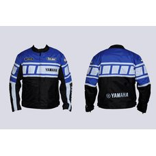 Купить Мотокуртка   YAMAHA   (текстиль) (mod:YA-1, size:XXL, синяя) в Интернет-Магазине LIMOTO