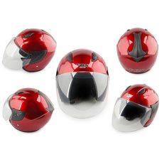 Купить Шлем открытый   (mod:522) (size:L, красный)   FGN в Интернет-Магазине LIMOTO