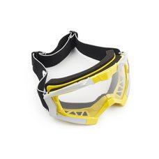 Купить Очки кроссовые   (mod:MJ-1017, желтые, прозрачное стекло) в Интернет-Магазине LIMOTO