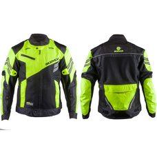 Купить Мотокуртка   SCOYCO   (текстиль) (size:XL, черно-зеленая, mod:JK36) в Интернет-Магазине LIMOTO
