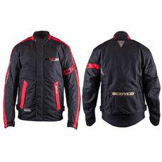 Купить Мотокуртка   SCOYCO   (текстиль) (size:XL, черно-красная, mod:JK34) в Интернет-Магазине LIMOTO
