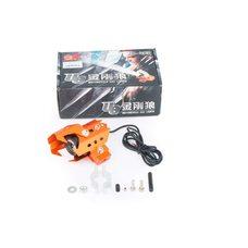 Купить Фара (линза) противотуманная   (серая с оранжевым)   JCAA в Интернет-Магазине LIMOTO