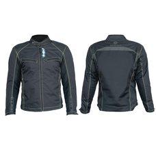 Купить Мотокуртка   (кожзам) (черная, усиление на плечах, груди size L) в Интернет-Магазине LIMOTO