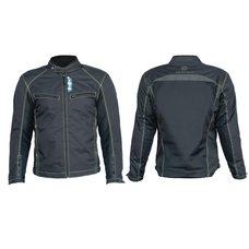 Купить Мотокуртка   (кожзам) (черная, усиление на плечах, груди size XL) в Интернет-Магазине LIMOTO