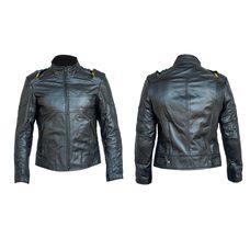 Купить Мотокуртка   (кожа) (черная size XL) в Интернет-Магазине LIMOTO