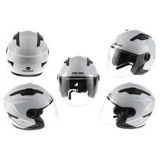 Купить Шлем открытый   (mod:DH958) (size:M, белый)   HELMO в Интернет-Магазине LIMOTO